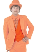 NEW Bright Colored Tuxedos Orange Backless Vest