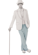 NEW BCT Light Blue Flat Front Trousers