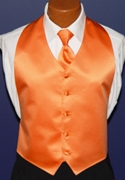 Tuxedo Park Tangerine 'Pinnacle' Backless Vest