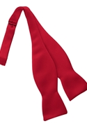 Tuxedo Park Red Self Tie Bow Tie