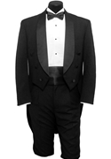 Classic Collection Black Shawl Tailcoat #5