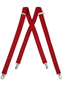 NEW Red Sartorous Suspenders