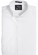 Classic Collection White Wing-Tip Collar Shirt