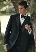 Joseph Abboud Black Notch Tuxedo Coat