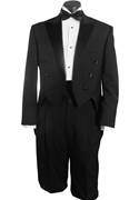 Classic Collection NEW 6 Button Peak Tailcoat Tuxedo Feat. Wide Lapel