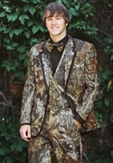 Bright Colored Tuxedo Camouflage Alpine Two Button Notch Coat