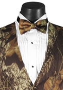Bright Colored Tuxedos Camouflage 'Alpine' Bow Tie