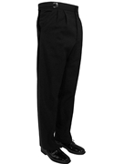 Classic Collection Black Traditional Trouser
