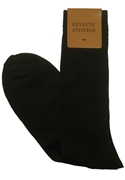 Classic Collection Black Dress Socks