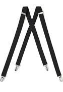NEW Black Sartorous Suspenders