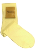 Classic Collection Ivory Dress Socks