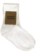 Classic Collection White Dress Socks