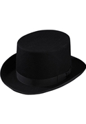 Classic Collection Black Top Hat