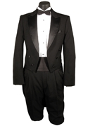 Classic Collection 6 Button Peak Tailcoat Tuxedo