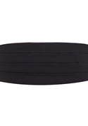 NEW Black Satin Cummerbund
