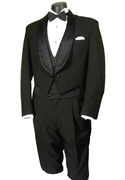 Classic Collection Black Full Dress Shawl Tailcoat #2
