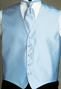 Andrew Fezza Powder Blue 'Fusion' Vest
