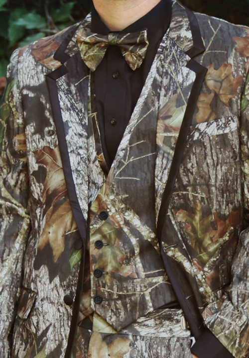 NEW Bright Colored Tuxedos Camouflage 'Alpine' Fullback Vest