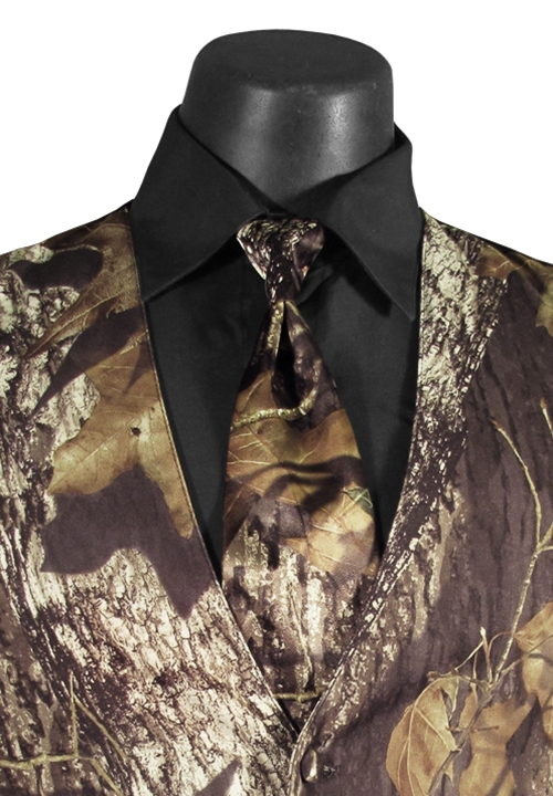 NEW Bright Colored Tuxedos Camouflage 'Alpine' 4NHand Tie