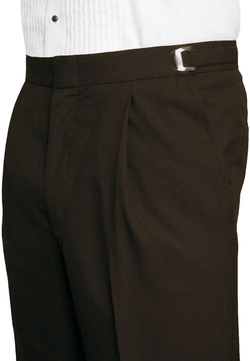Mahogany Solid 'Summit' Trousers by After Six