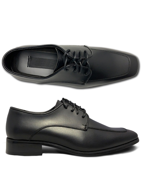 NEW Matte Black 'Bravo' Lace-up Shoes by Bravo