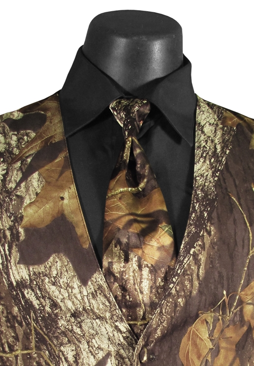 Bright Colored Tuxedos Camouflage 'Alpine' 4NHand Tie