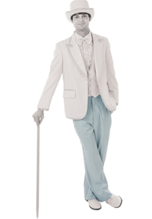 BCT Light Blue Flat Front Trousers