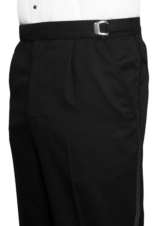 Jean Yves Black Traditional Trouser