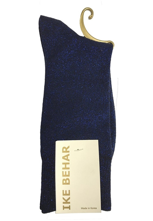 NEW Blue Sparkle Sock by Ike Behar