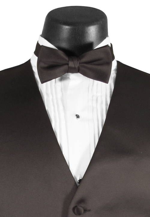 Charcoal Grey 'Madison' Bow Tie