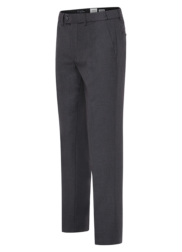 "Medium Grey ""Trim Fit"" Suit Trouser"