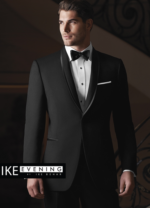 Black Waverly Tuxedo Coat