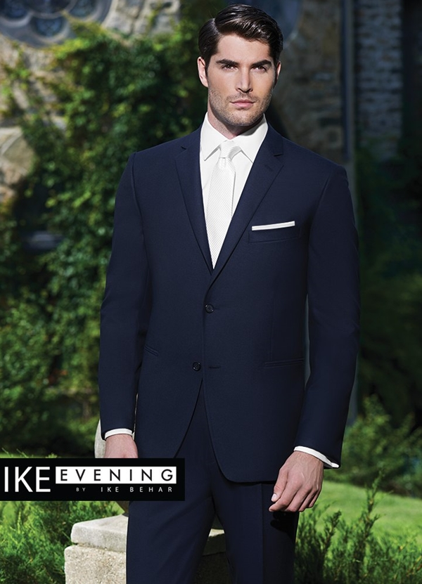 Navy 'Collin' Suit Coat