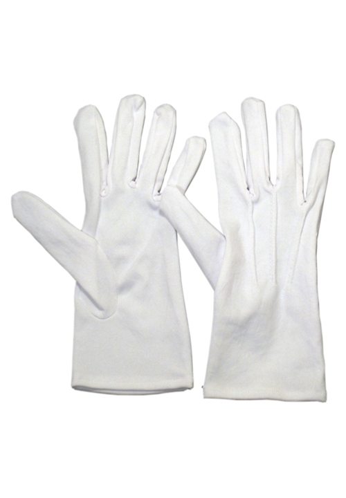 Classic Collection White Formal Gloves