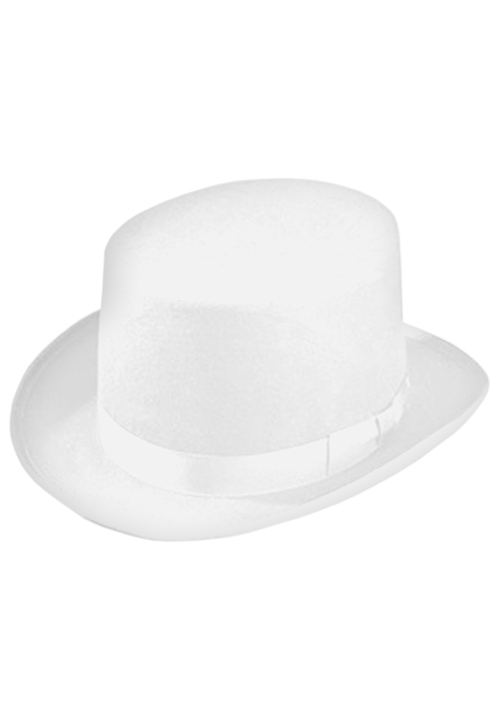 Classic Collection White Top Hat