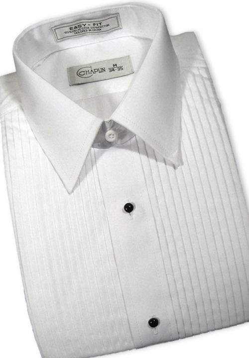 Classic Collection White Turn Down Collar Shirt