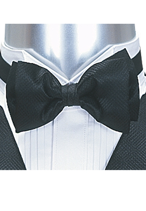 Lord West Black 'Freedom' Bow Tie