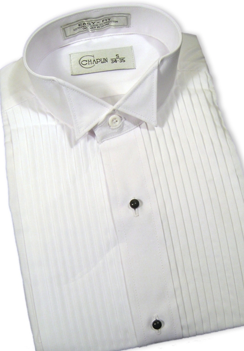 Classic Collection White Wing Tip Collar Shirt