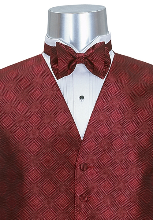 Lord West Cardinal 'Freedom' Bow Tie