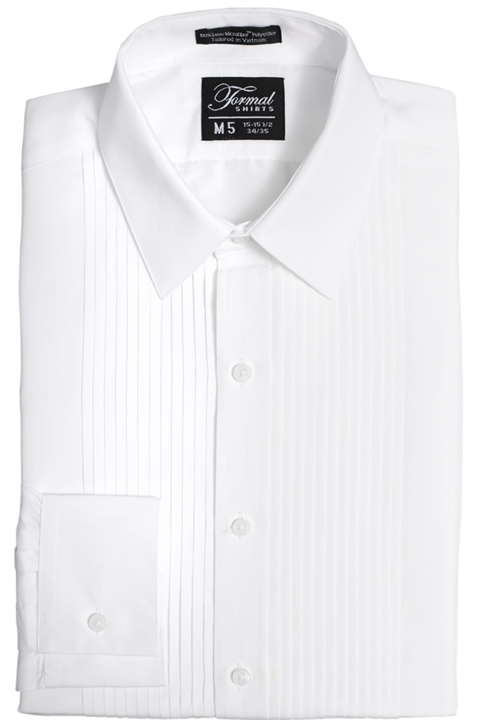 Classic Collection 'Mark' White Turn Down Collar Shirt