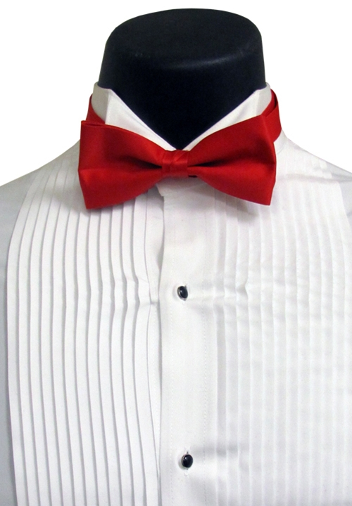 Lord West Red Bow Tie