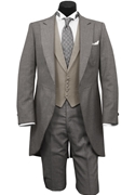 Classic Collection Grey Peak Cutaway Tailcoat
