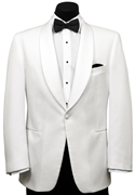 Oscar de la Renta White Dinner Jacket