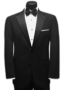 Classic Collection Black 'Chase' Tuxedo Coat