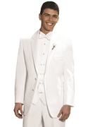 After Six White 'Troy' Tuxedo Coat