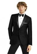 Black Paisley 'Chase' Dinner Jacket