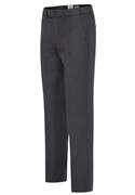 "Medium Grey ""Trim Fit"" Pant by David Major"