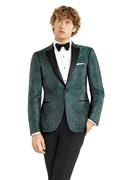 Green Paisley 'Chase' Dinner Jacket - Kit Test