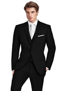 Black 'Ethan' Suit Coat