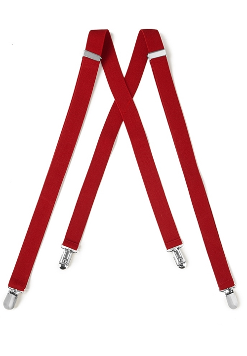 NEW Red Suspenders
